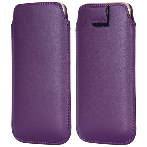 Image of Stylish Leather Pouch For iPhone or Android - Your Lifestyle Corner