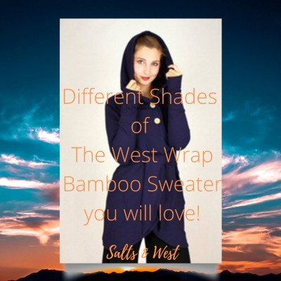 Different Shades of The West Wrap Bamboo Sweater you will love!