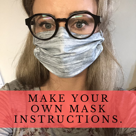 How to Make Your own Cloth Face Mask.