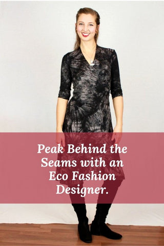 Brenda Laine Designs Gives you a peaks behind the Scenes of her Bamboo Clothing Creations!