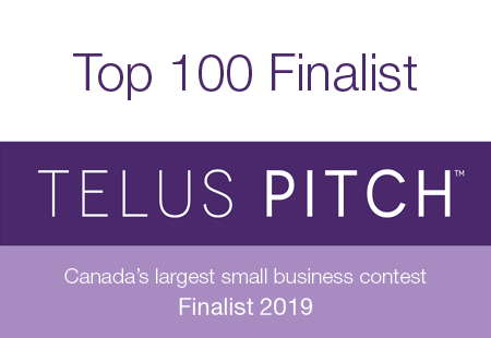 Salts & West is a Top 100 Finalist in the Telus Pitch Grant!