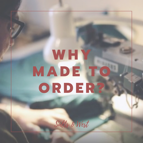 Made to Order Fashion: Exploring the Love of Slow Fashion and Pre-Orders.