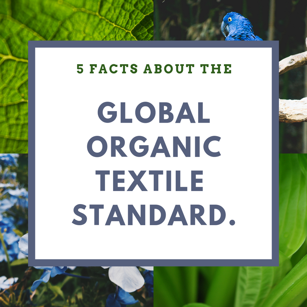 GOTS Organic Clothing Certification: Why is it so great? 5 facts to consider.