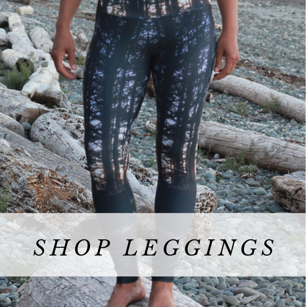 Bamboo and Eco Lux Leggings