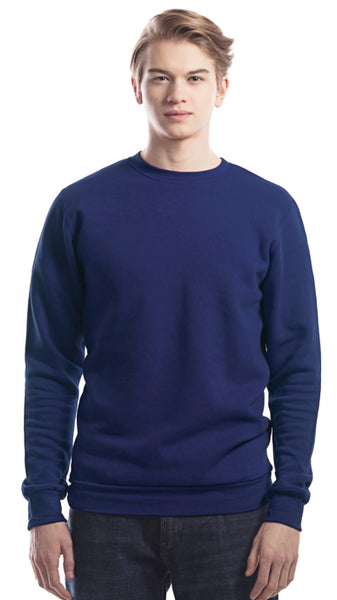 Unisex bamboo sweater navy.