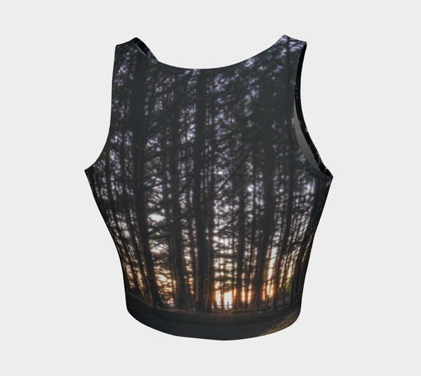 Tofino Fitted Crop Tank Top