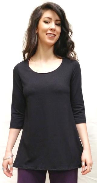 BL Hemp Tunic with 3/4 sleeves