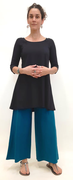 Hemp Long Tunic with 3/4 sleeves