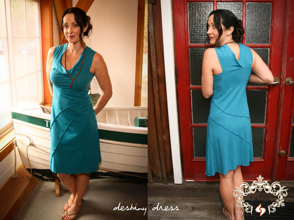 Stellar Blue Destiny Dress