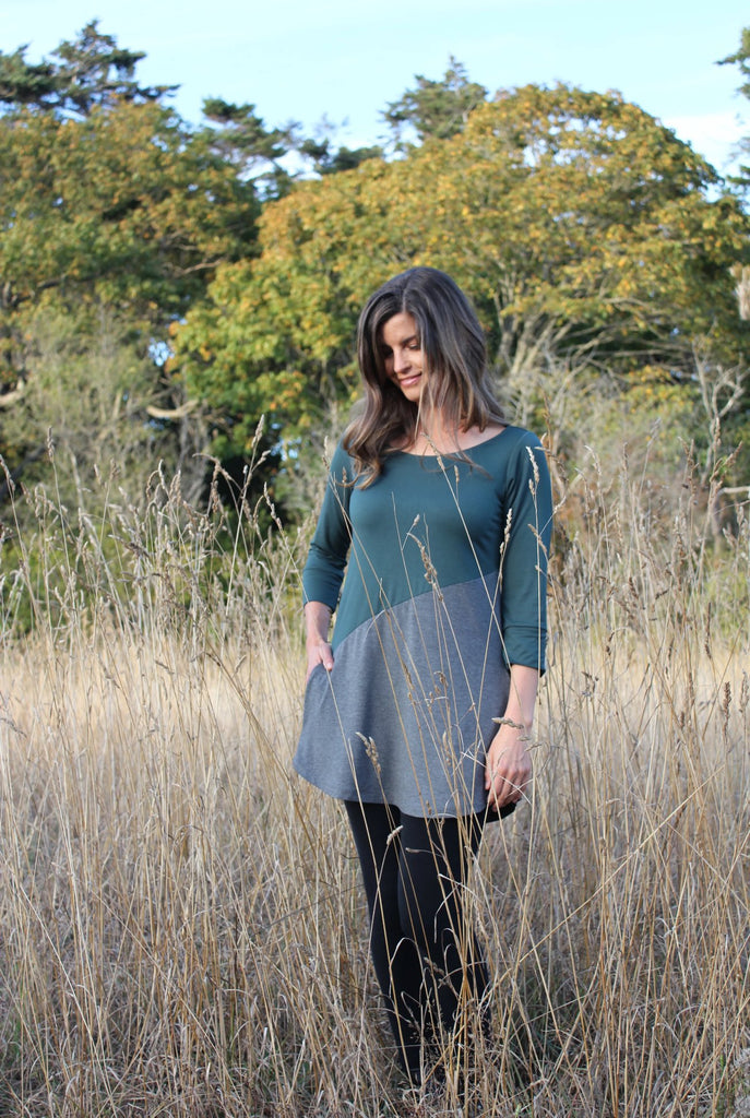 Bamboo Tunic side front view