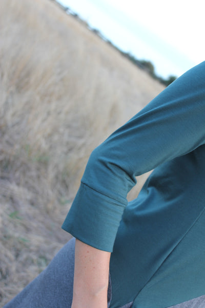 Sleeve detail view Meggy Bamboo tunic