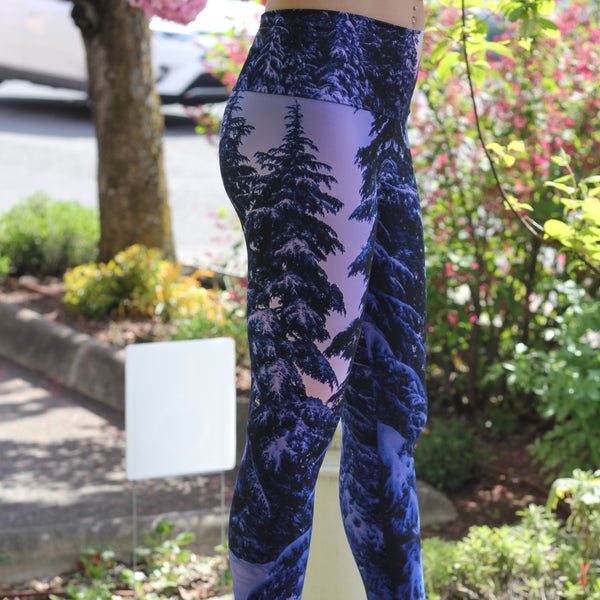 Whistler Trees Eco Lux Stretch Legging