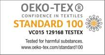 Non-toxic certification for bamboo clothing and bamboo top.