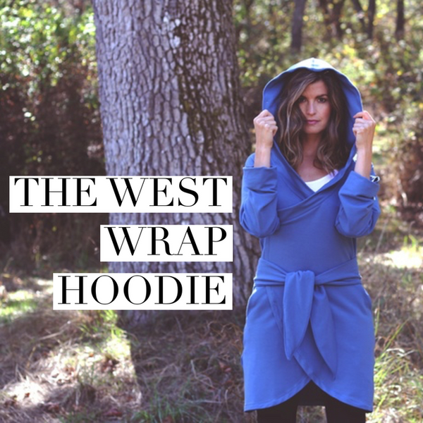 West Wrap Bamboo Fleece Hoodie