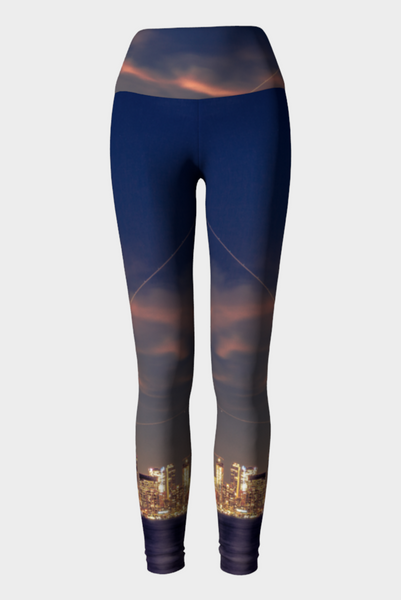Toronto at Dusk - Eco Lux Legging