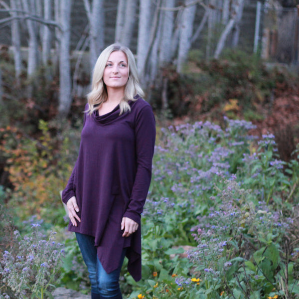 Flow Bamboo Cowl Tunic