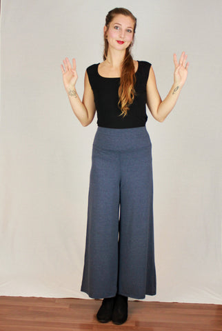 Extra Wide Leg Bamboo Pant