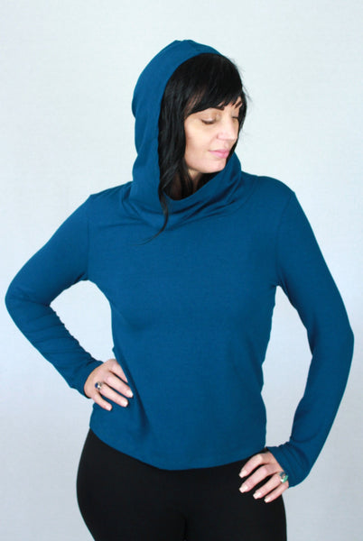 Hooded Bamboo Sweater Moroccan