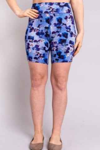 Blue Sky Clothing - Bamboo underwear undershort - purple print color- Bamboo Clothing