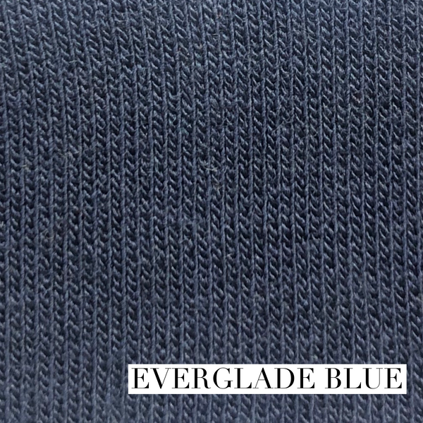 Everglade blue colour for the bamboo wrap top.