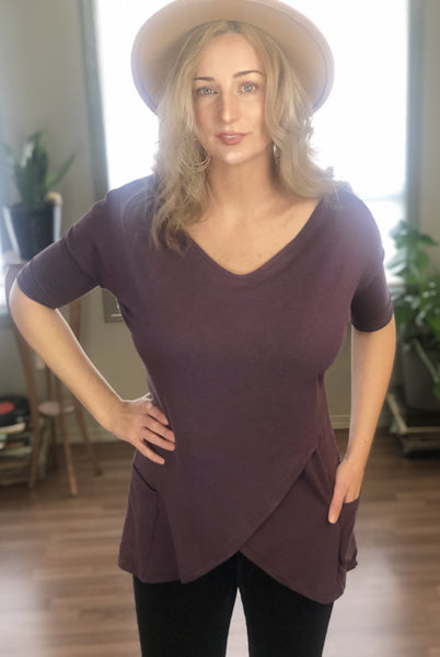 Pre-Order Special: Juno Bamboo Tunic with Pockets