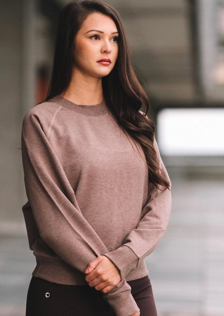 Chelsea Bamboo Sweater - Bamboo Fleece