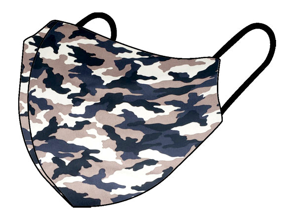 Personal Cloth Face Mask - 100% Cotton Face Mask - Camo Face Mask