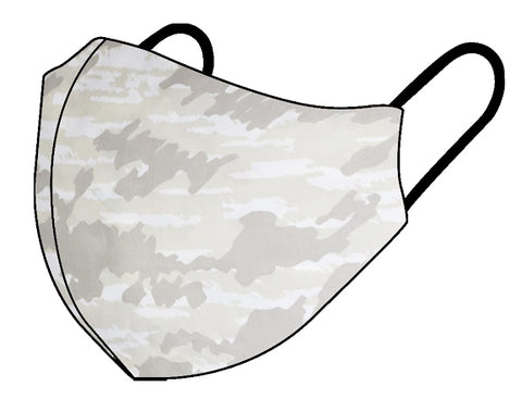 Personal Cloth Face Mask - 100% Cotton Face Mask - Light Camo Face Mask