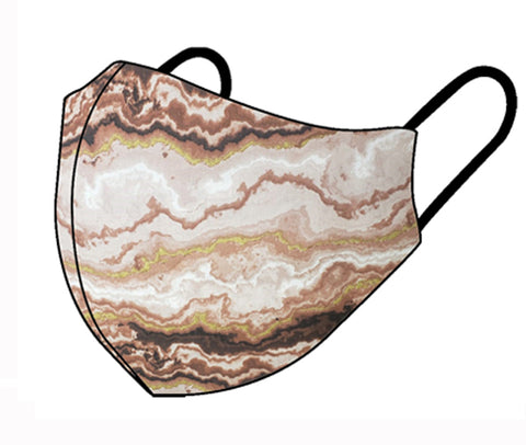 Nude agate Child size face mask