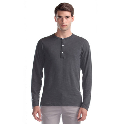Men's Bamboo Organic Cotton Henley Shirt
