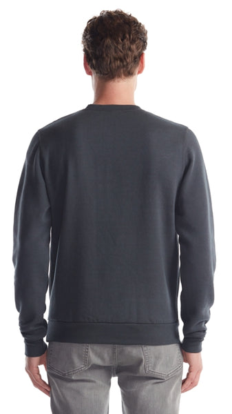 Back view of the bamboo sweater.