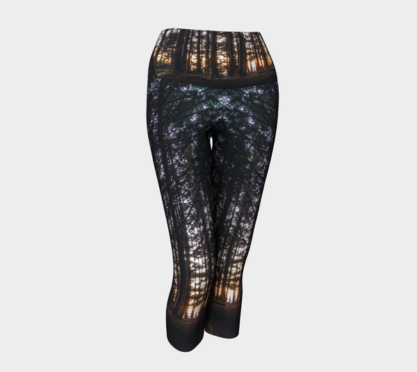 Tofino Surf Check - Eco Lux Legging - Capris