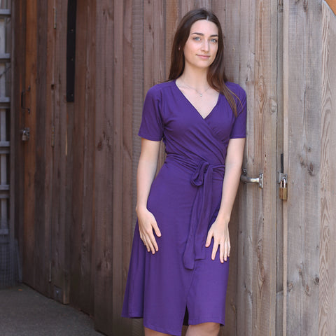 Joy Bamboo Wrap Dress *Reversible!