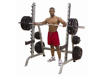 Body Solid Multi Press and Squat Rack