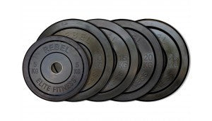 Black Rubber Bumper Plate
