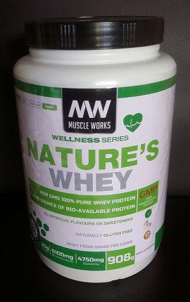Muscle Works Nature's Whey 908G