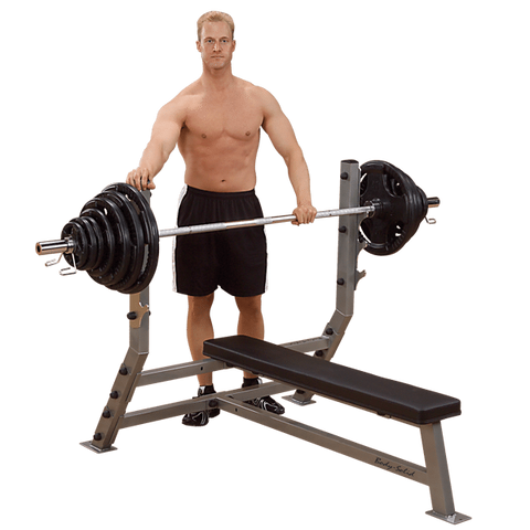 Body Solid Pro Club Flat Olympic Bench Press