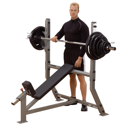 Body Solid Pro Incline Olympic Bench Press