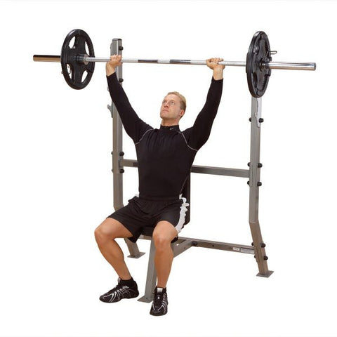 Body Solid Pro Club Olympic Shoulder Press Bench