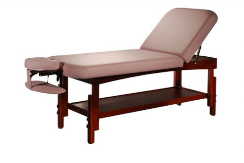 Stationary Wooden Massage Bed