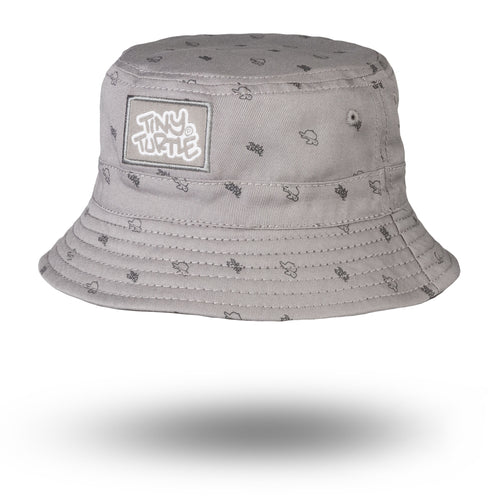 Tiny Buckethat Grey