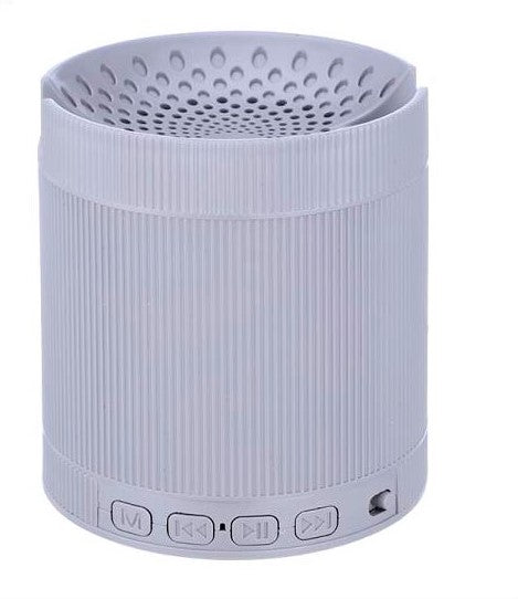 Bluetooth Speaker ( 6 IN 1 ) with Mobile Stand,FM radioUSB Port Memory card slot Aux-EZ396-Gray - EZELLER