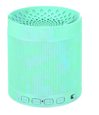 Bluetooth Speaker ( 6 IN 1 ) with Mobile Stand,FM radioUSB Port Memory card slot Aux-EZ396-Green - EZELLER