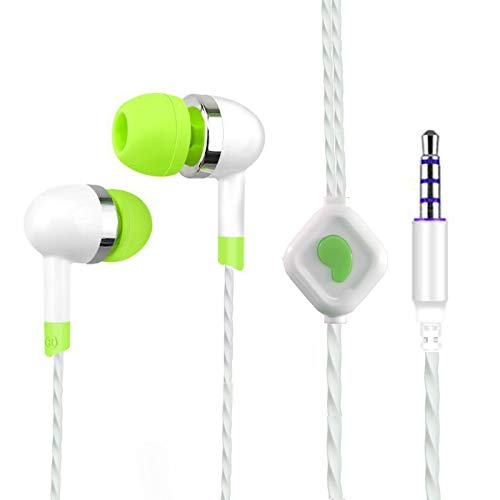 ROPI Students Earphones Stereo Headphone 3.5mm Pin Compatible with Android Mobiles Tablets iPhone IPad Laptops & All 3.5mm Gadgets EZ574