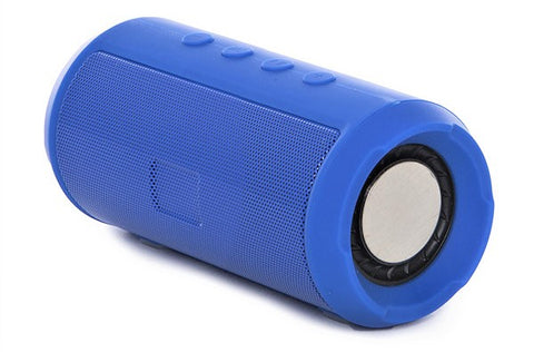 Drum Speaker Woofer Bar Portable Bluetooth Speaker EZ386-BLUE - EZELLER