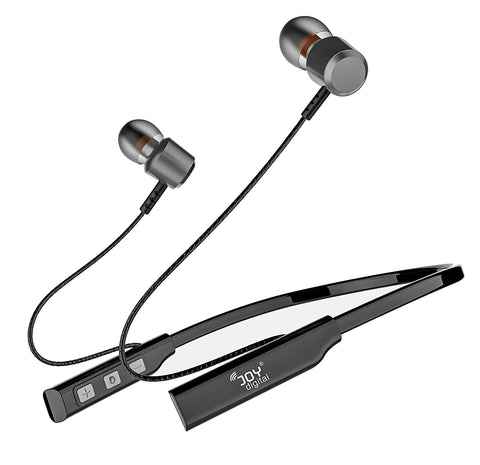 Sports Wireless Bluetooth Headset Bass Series with 15 hrs Music Wireless Neckband for All Smartphones, Tablets, Laptops, Computers EZ592