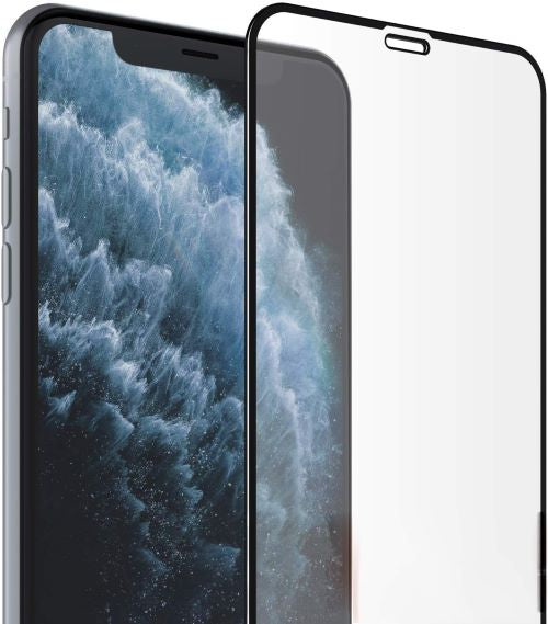 iPhone 11 PRO MAX Full Tempered Glass 11D by Tel, Ultra Clear, Zero Bubbles, Sensitive Touch - EZELLER