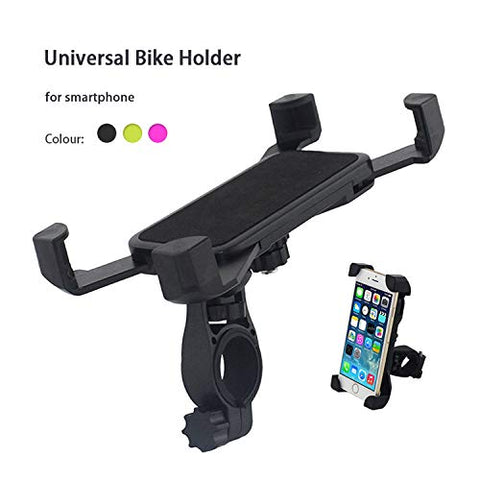 Universal Bike Mobile Phone Holder | Cycle Mobile Phone Holder - Two Wheeler Mobile Holder EZ498