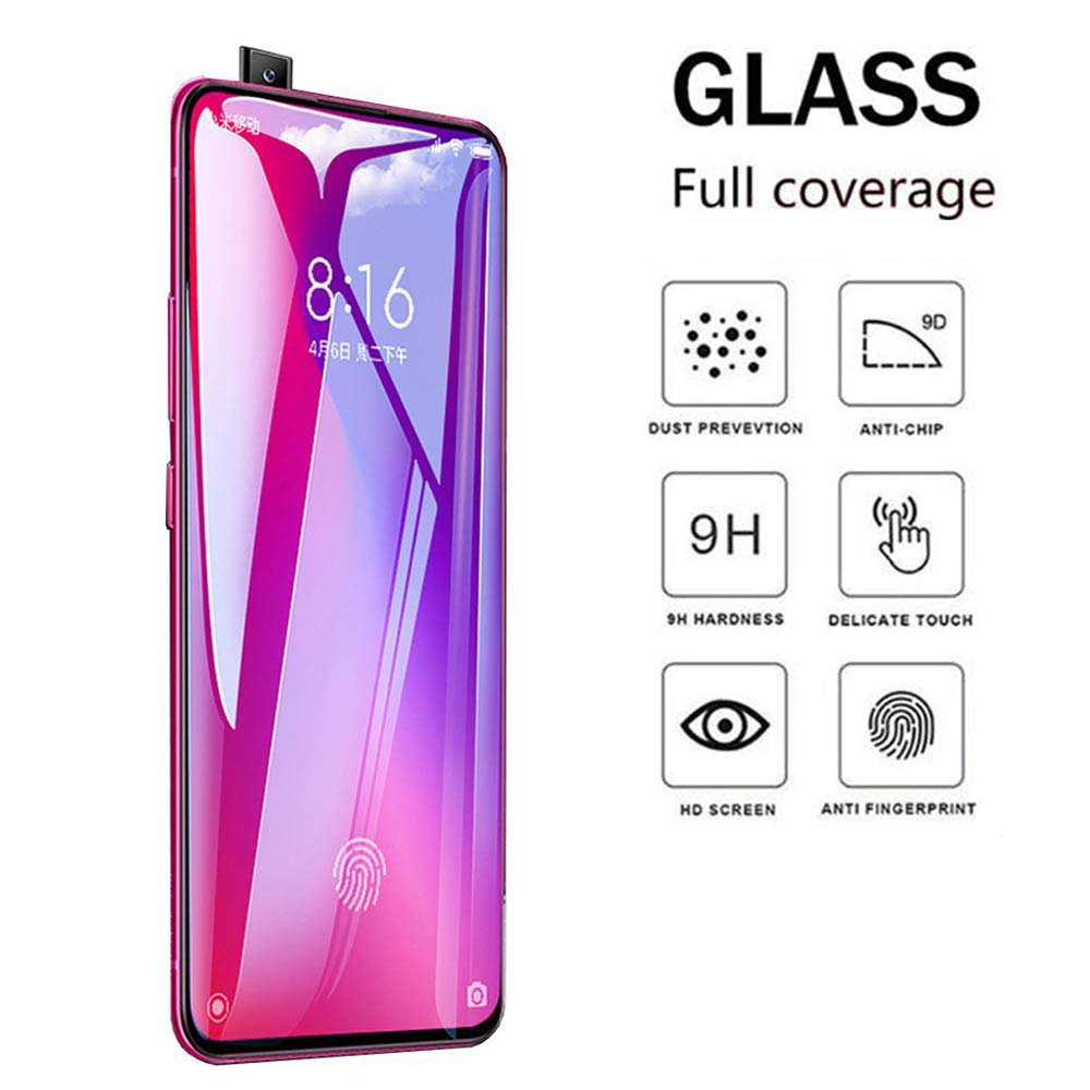 Redmi K20 Full Tempered Glass by Rinbo, High Definition Transparency 100% OG Quality EZ448 - EZELLER