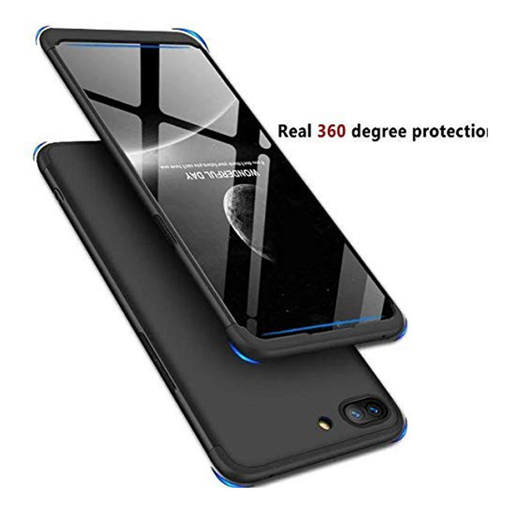 REALME C1 CASE 360º Full Protection Matte Comfortable Grip Slim Fit Lightweight - EZELLER